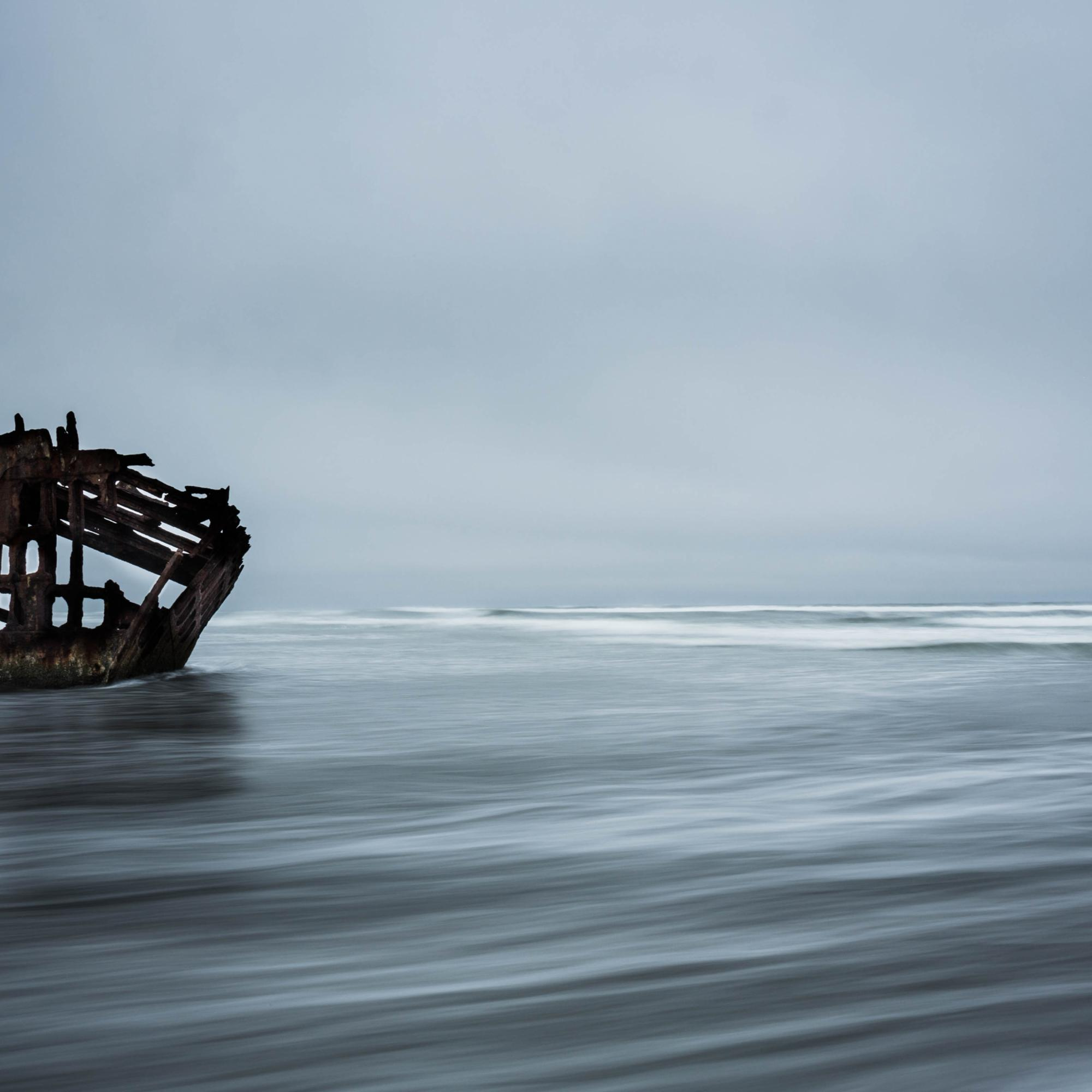 Peter Iredale High Tide
