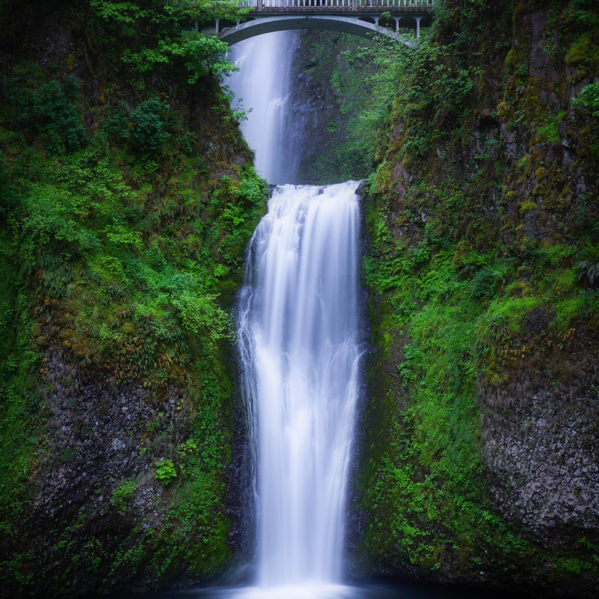 Multnomah Falls, Lower Half