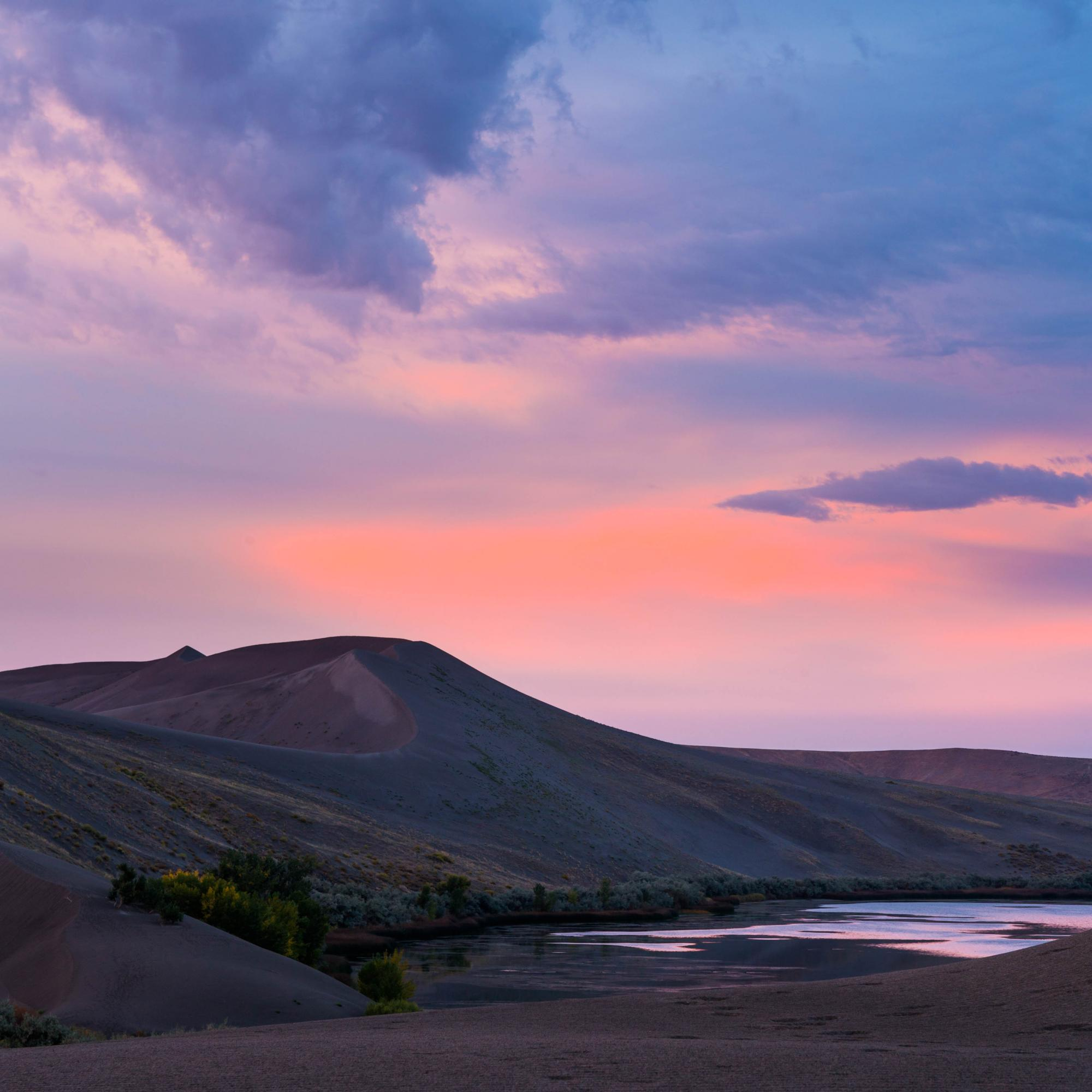 Bruneau Dunes Morning