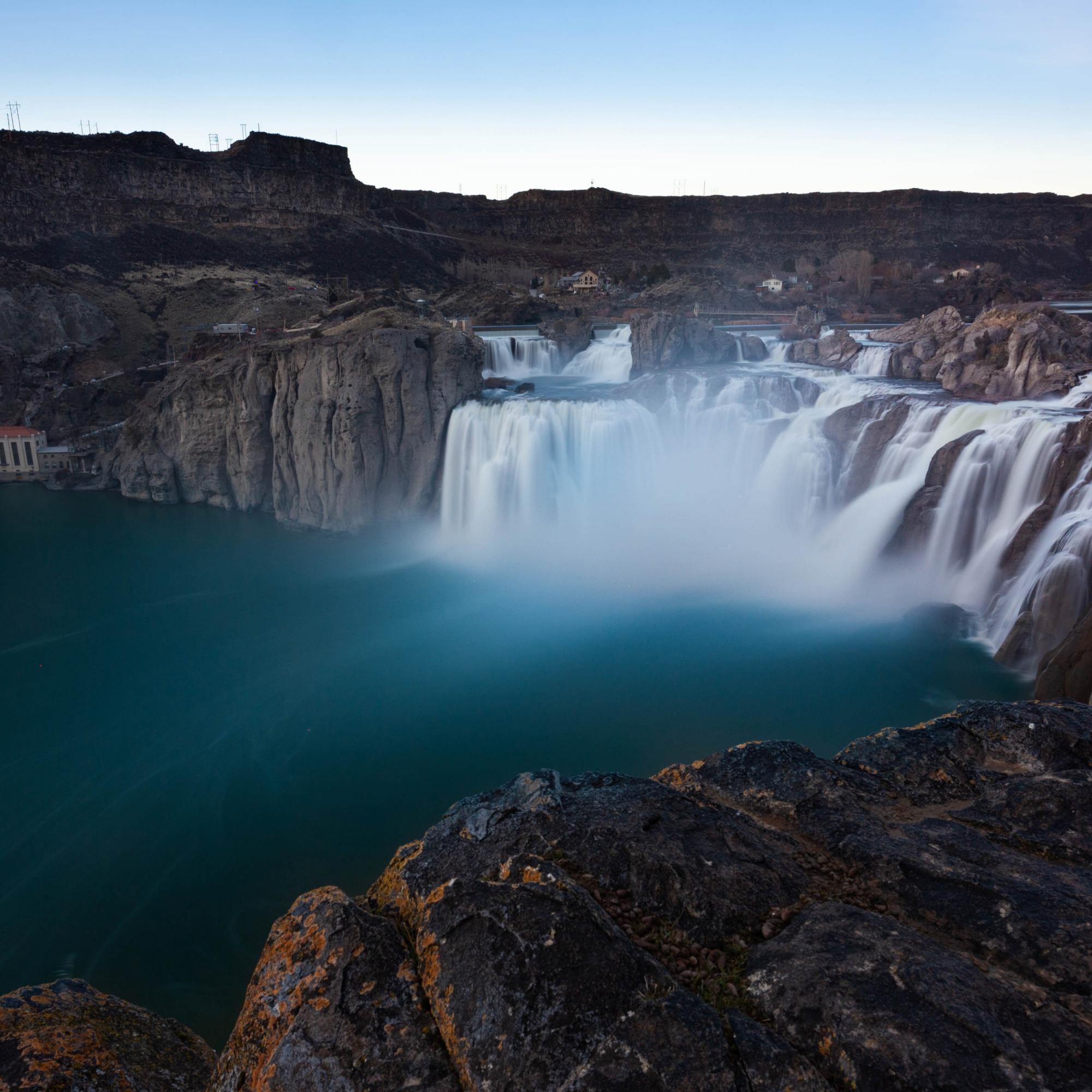 Shoshone Falls Blue Hour