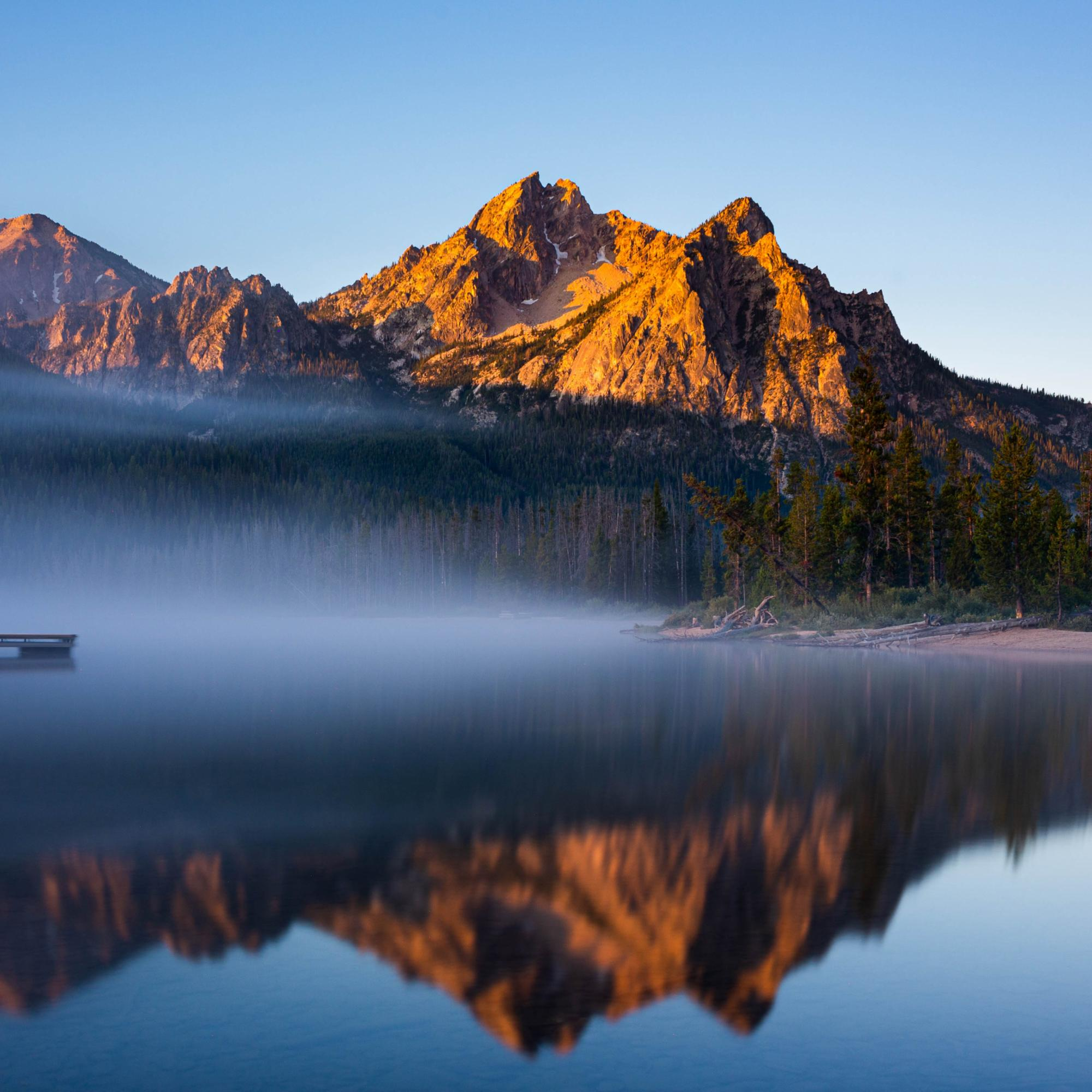 McGown Peak Reflection