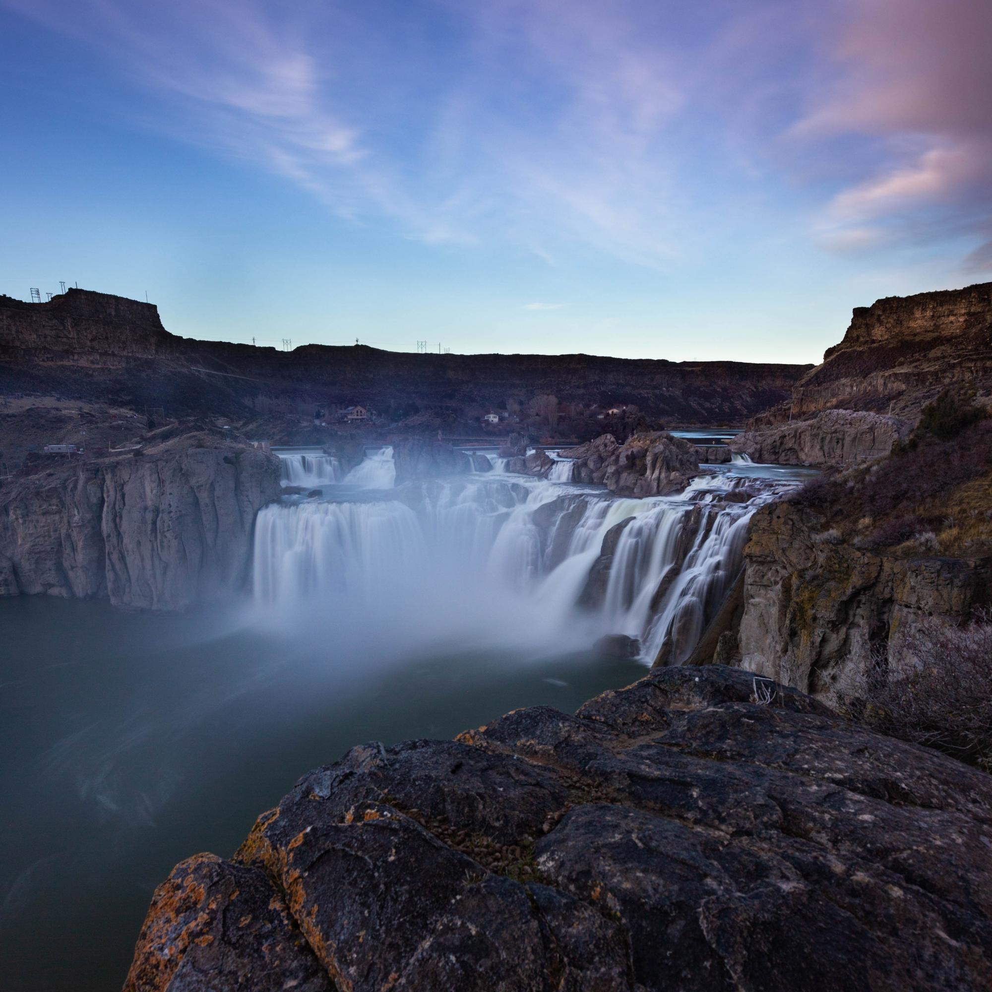 Shoshone Falls Sunset