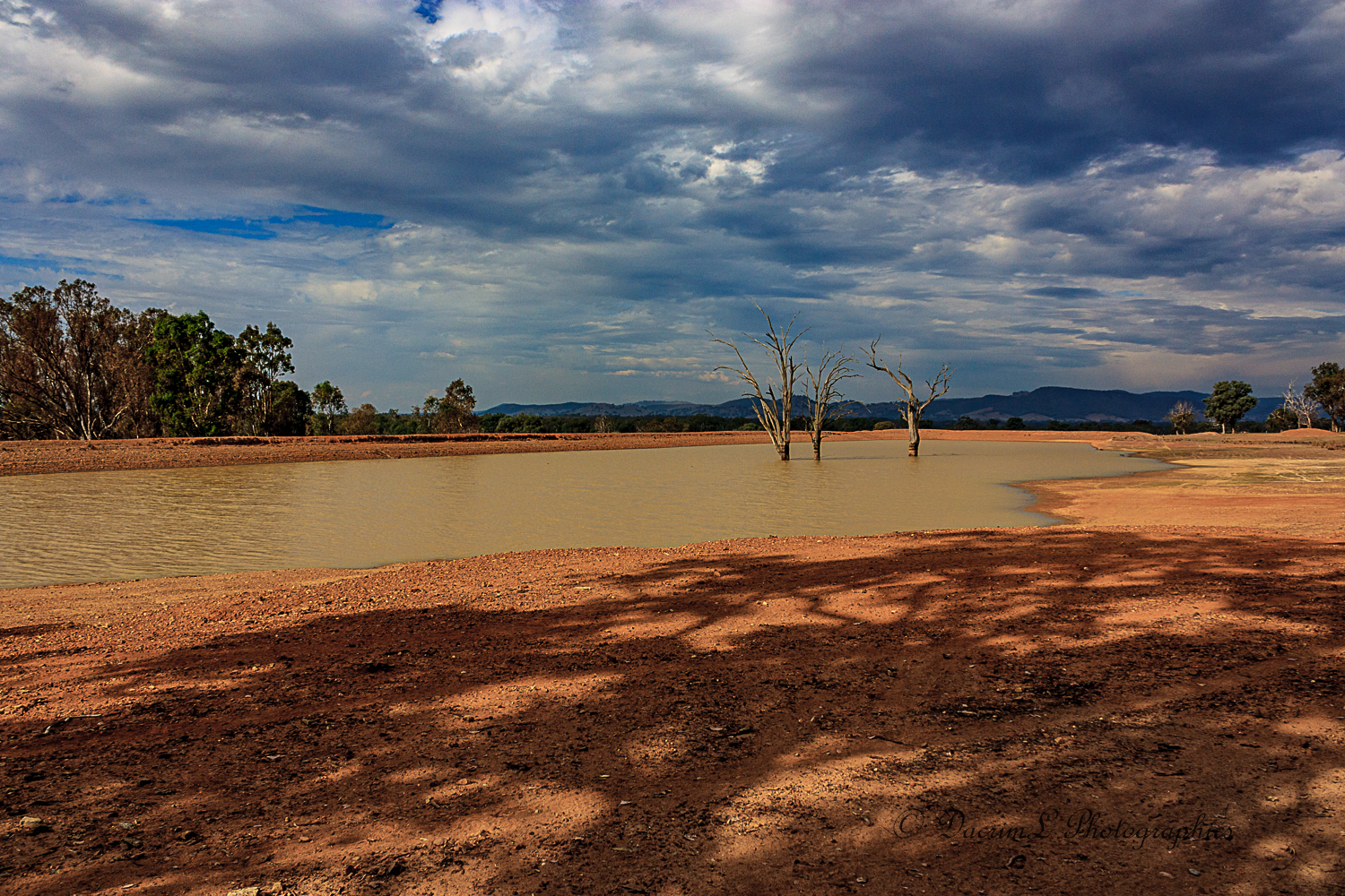 Storm clouds over a Drought Stricken Land