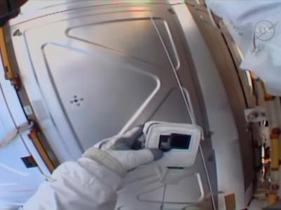 Astronaut Forgets SD Card on Earth and ... image