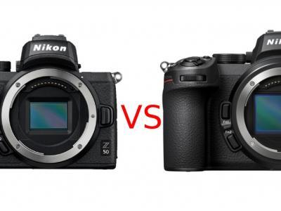 Nikon Z50 vs Nikon Z5 image
