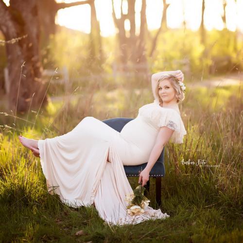Beautiful Spring Maternity Photography Ideas