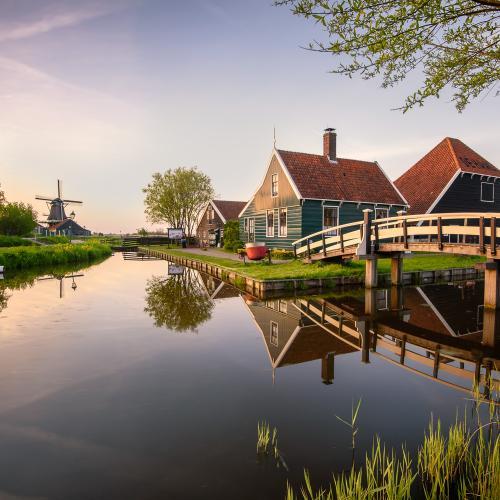 Dutch light - Zaanse Schans, Netherlands by Luigi Trevisi