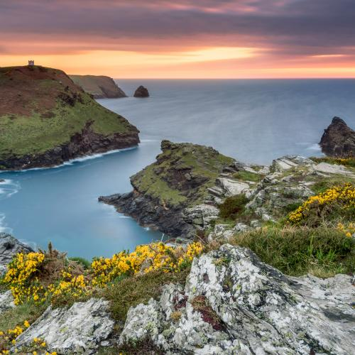 Burst of colors - Boscastle, Cornwall by Luigi Trevisi
