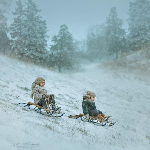 A Snow Storm Is Coming by Lilia