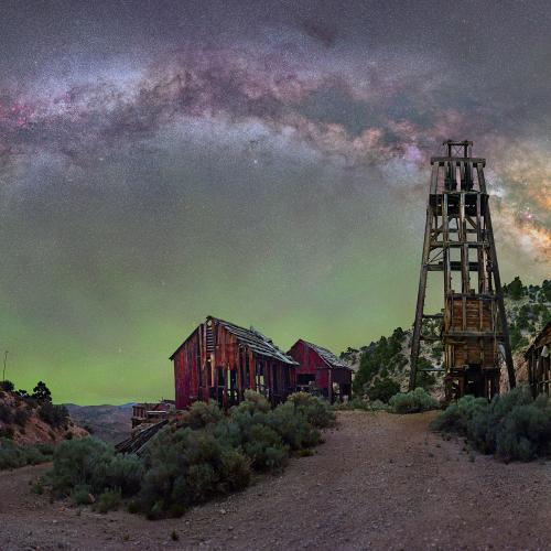 The Milky Way Mine by astrodave