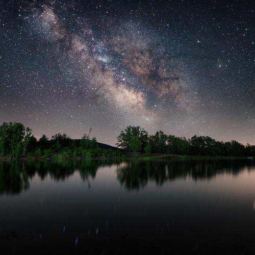 Lake of Galaxy by ThrasivoulosP