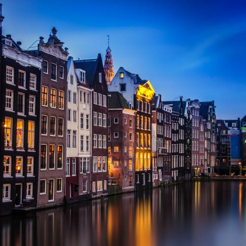Blue Hour In Amsterdam by ThrasivoulosP