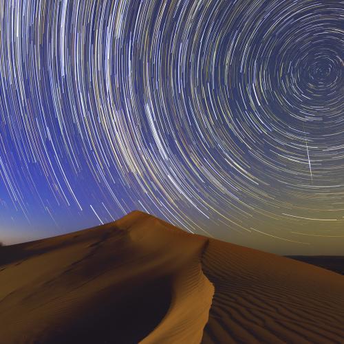 Simpson desert stars by donnnnnny