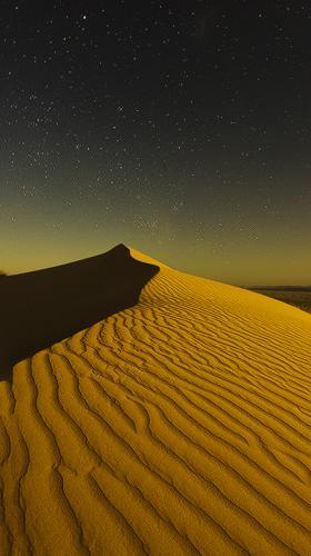 The desert night. by donnnnnny