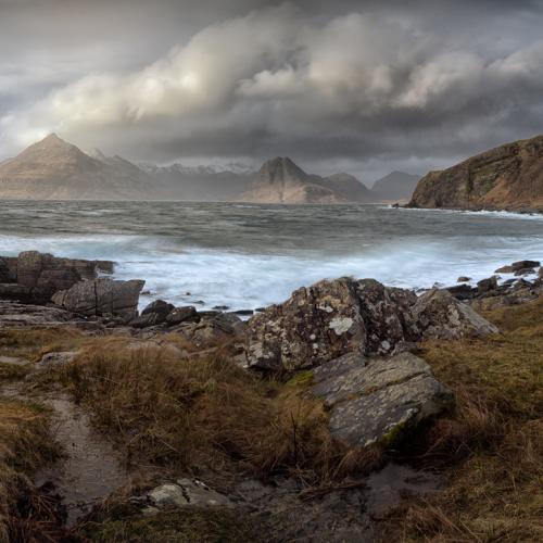 Elgol storm by donnnnnny