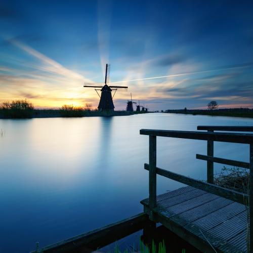 Kinderdijk by Jens Klettenheimer