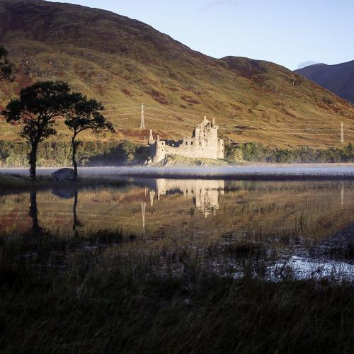 Kilchurn Sunrise by Marc Pickering