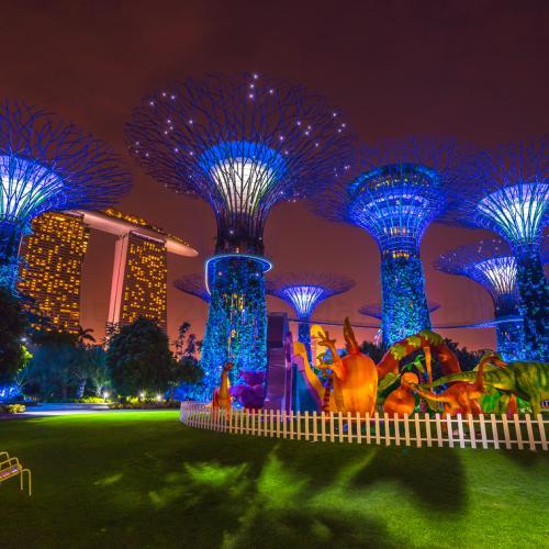 Supertree Grove, Singapore by MartinHroch