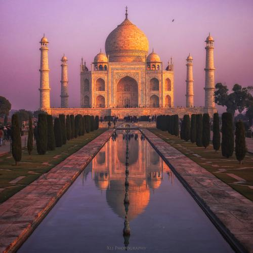 Taj Mahal by Xljphotography