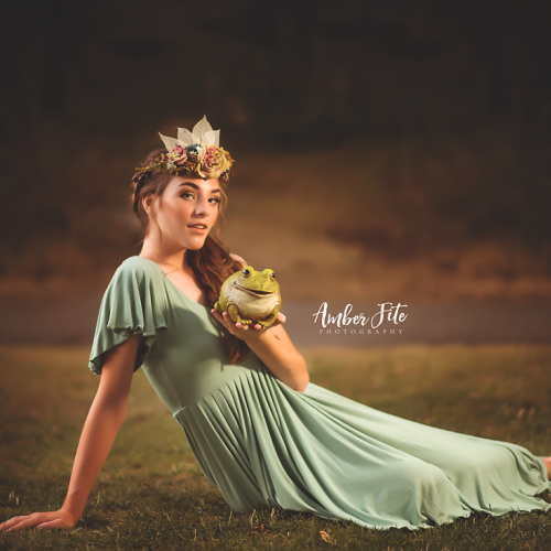 The Princess and the Frog  by Amber Fite Photography