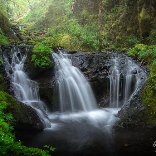 Emerald Falls by Gary A Randall