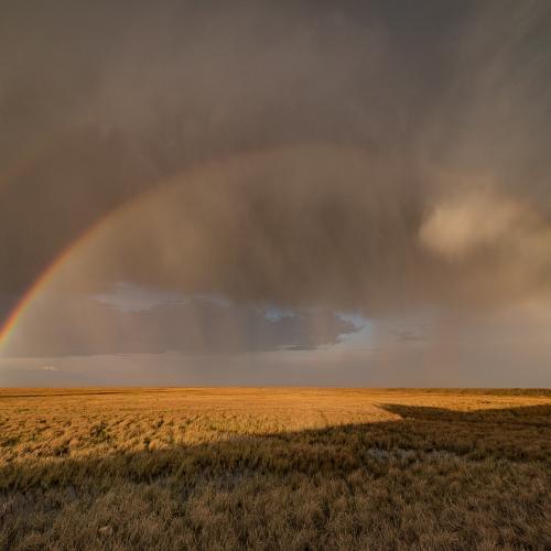 Double Arctic Rainbow by Alaskan Thru the Lens