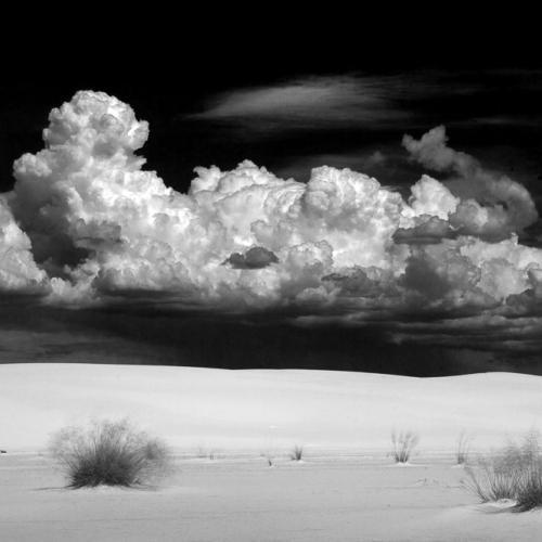White Sands Thunderheads by Kodakevin