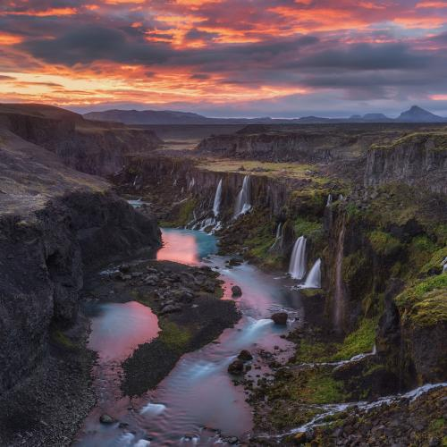 Midnight Sun at the Valley of Tears by Iurie Belegurschi