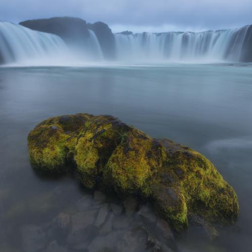 Waterfall of the Gods by Iurie Belegurschi