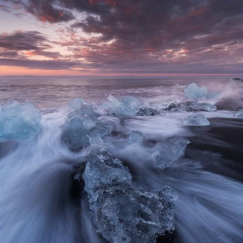 Diamonds in the Waves by Iurie Belegurschi