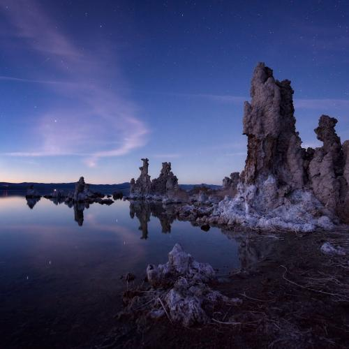 The Sentinel of Mono Lake by serenavsworld