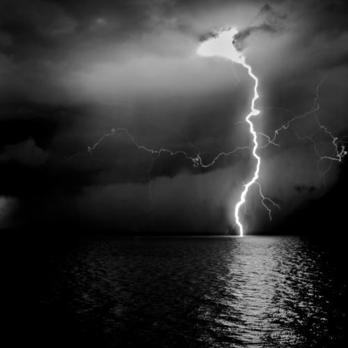 double-lightning by AvnerOferPhotography