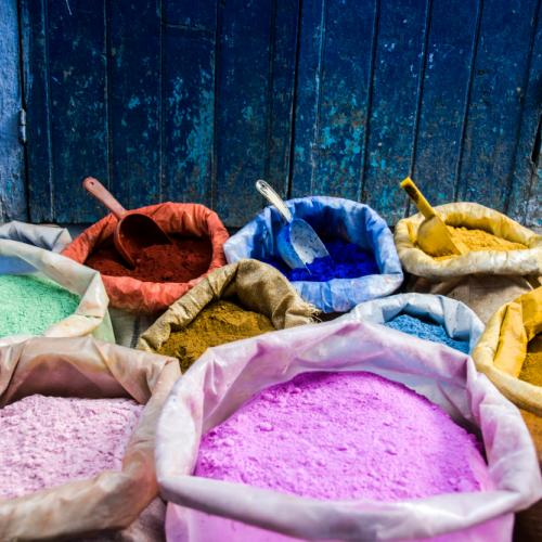 dyes-morocco by AvnerOferPhotography