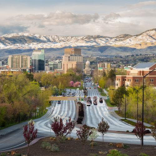 April Showers in Boise by Brent
