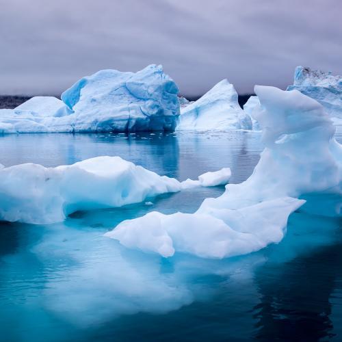 Blue Iceberg in Narsusuaq by Jason Row