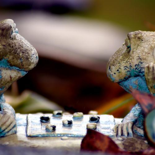 Frog Checkers by Joseph Trabucco