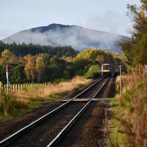 Cairngorm Railway  by LiamNeil