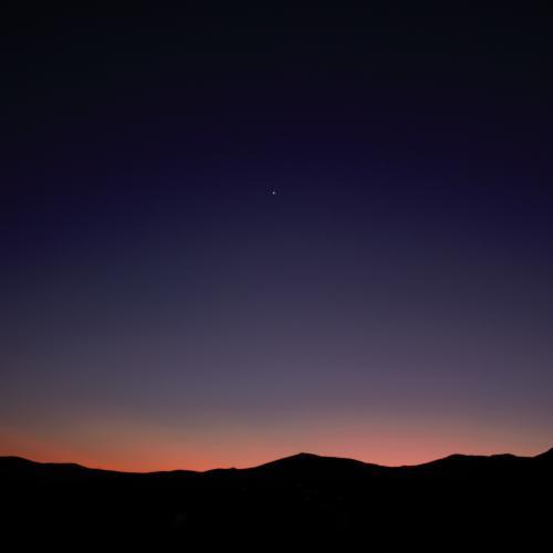 Night sky by MarinM