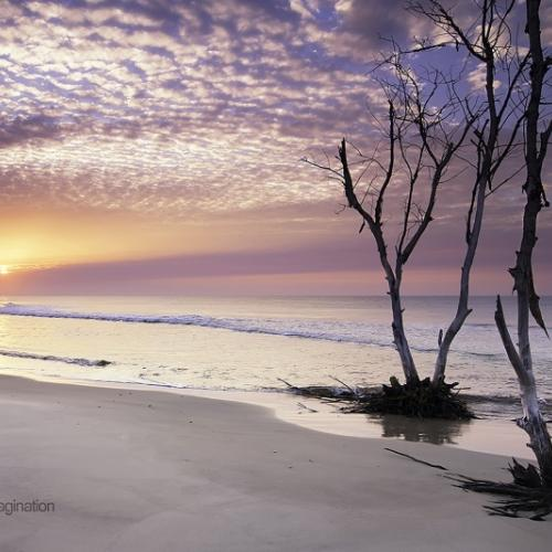 Beach sunset by Garry's Vision And Imagination