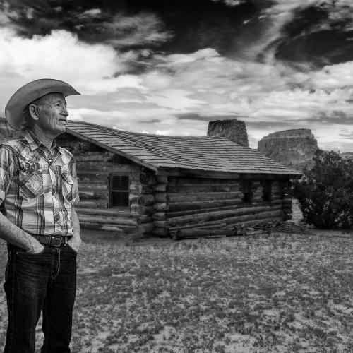 At the Ranch-bw by Randy A. Myers