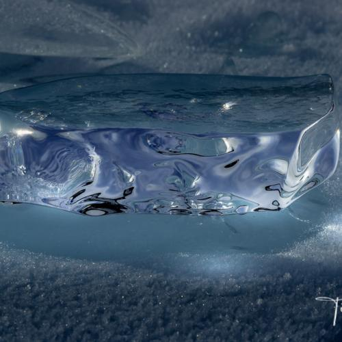 Detail of Ice by Tim Vollmer