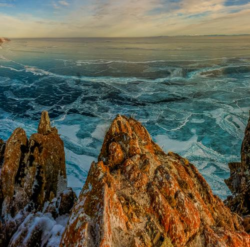 Panorama from the Lake Baikal by Tim Vollmer