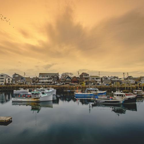 Fishing Village by Gary R. Hook