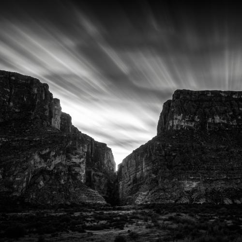 Santa Elena Canyon by Gary R. Hook