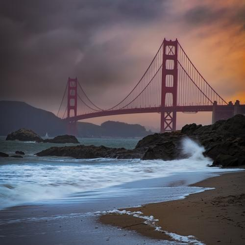 Baker's Beach by Ed