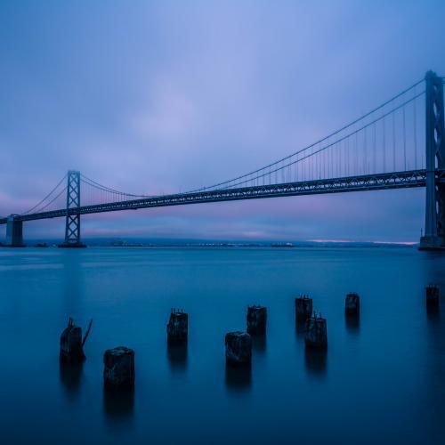 Bay Bridge Sunset  by Jared