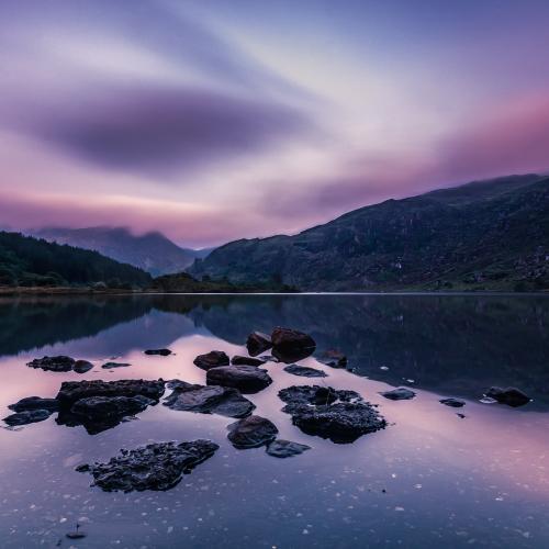 Gougane Barra Lake by Sean O' Riordan