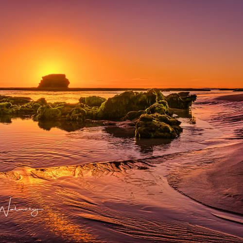Sunset at Pulpit Rock. by keith