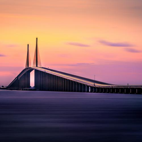 Sunshine Skyway Bridge by Bryan