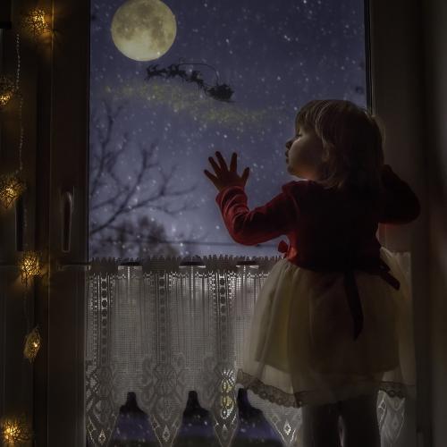 Dreaming of Santa by Katarzyna Soszka